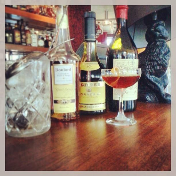 Söndagens drink, corpse reviver #1 av harry craddock