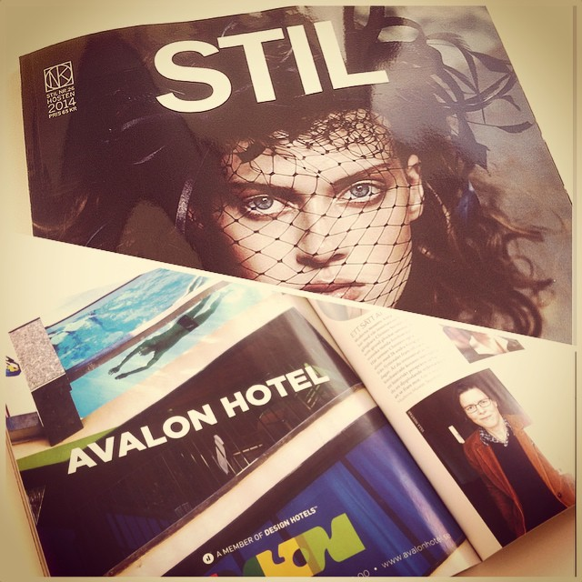 Kul att hitta Avalon i NKs tidning denna månad! @avalonhotel @design_hotels #avalon_gbg #designhotels #madebyoriginals #avalonhotel #göteborg #gothenburg #design #interior #hotel #avalonism #NK #STIL