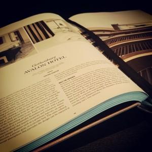 Vad är Avalon för er? Bara en dag kvar att tävla om den fina boken! :) @avalonhotel @design_hotels