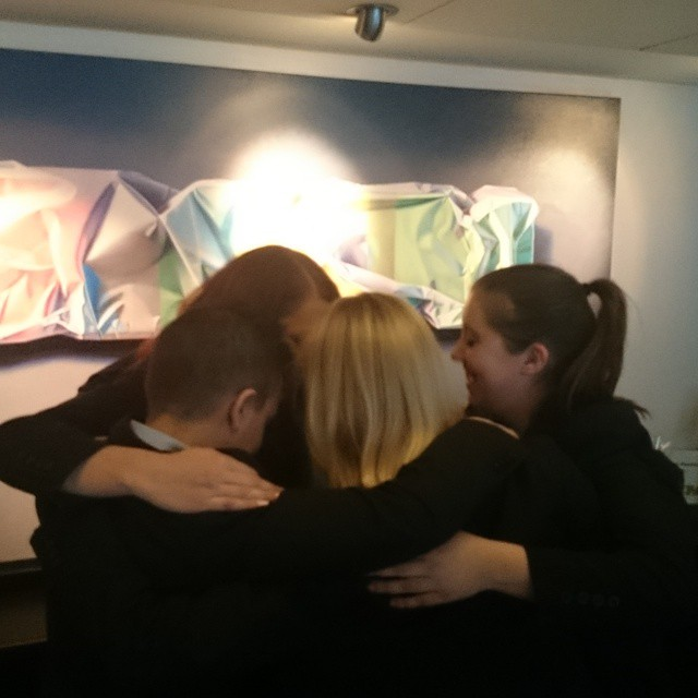 Idag är kramens dag! Detta firade vi i receptionen med en stor gruppkram! @avalonhotel @design_hotels #avalon_gbg #designhotels #madebyoriginals #hotelavalon #avalon #avalonhotel #göteborg #gothenburg #kram #kramensdag