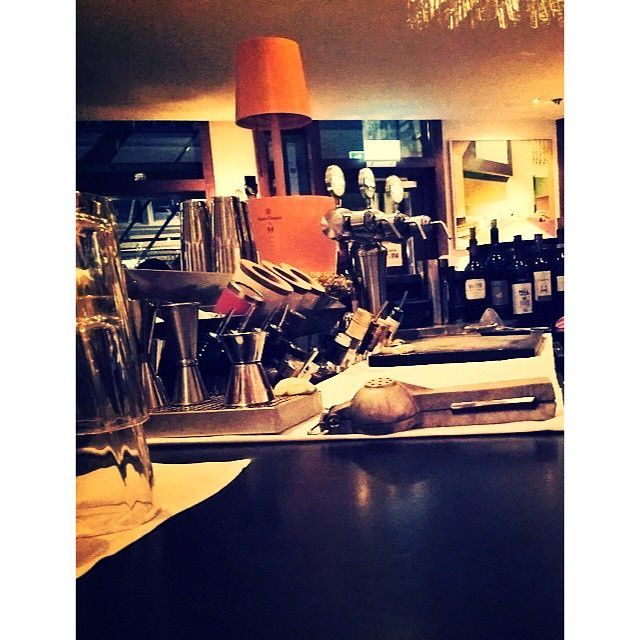 Inside the bar on a late night wednesday service. #avalon #avalonhotel #designhotels #bar