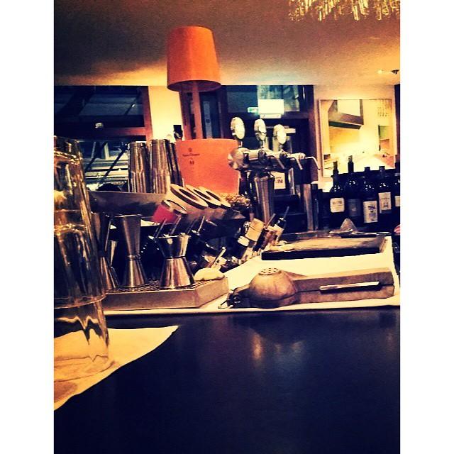Inside the bar on a late night wednesday service. #avalon #avalonhotel #designhotels #bar