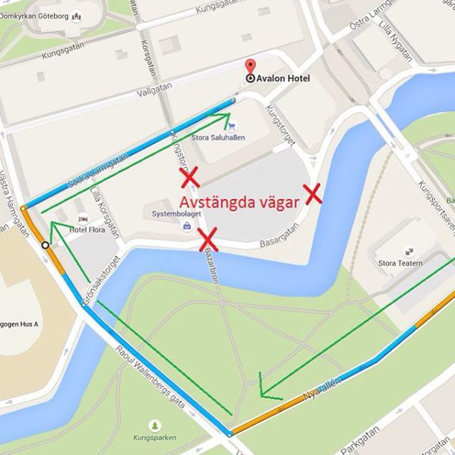 Med anledning av Kulturkalaset är Kungstorget stängt för biltrafik t.o.m. söndag. Se vår hemsida för mer information eller kontakta oss på 031-751 02 00