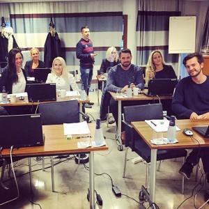 Denna veckan utbildar vi oss i Cenium, vårt nya datorsystem som vi ska byta till i November i och med att vi nu är medlemmar av Choice Nordic hotel & Resorts. Spännande!