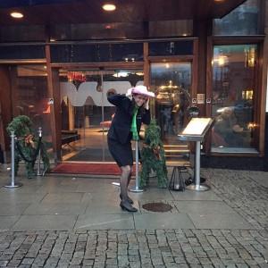 Håll i hatten! Idag blåser det i Göteborg @avalonhotel @nordichotels @nordicchoice @design_hotels
